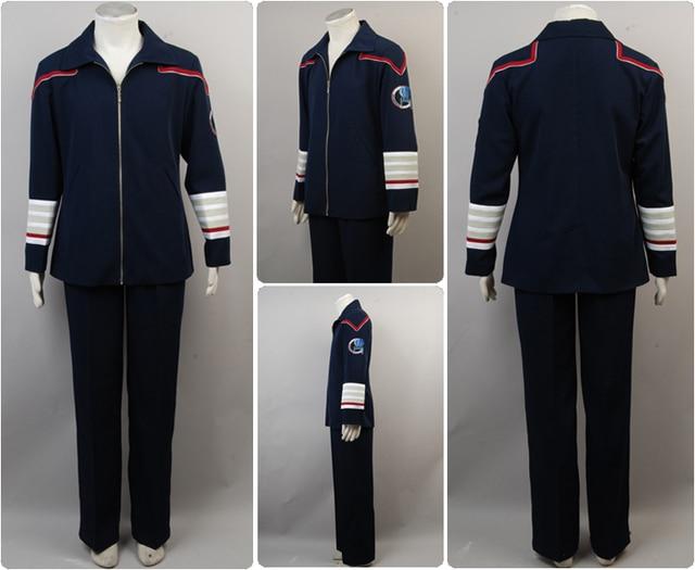e2387c59ad Marine Bleu Enterprise Uniforme Trek Amiral Veste Star Pantalon tpqf8x