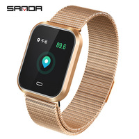 Smart Watch Women Heart Rate Monitor Blood Pressure Fitness Activity Tracker Smart Bracelet Sport Fashion Ladies Watch 2019 CD16