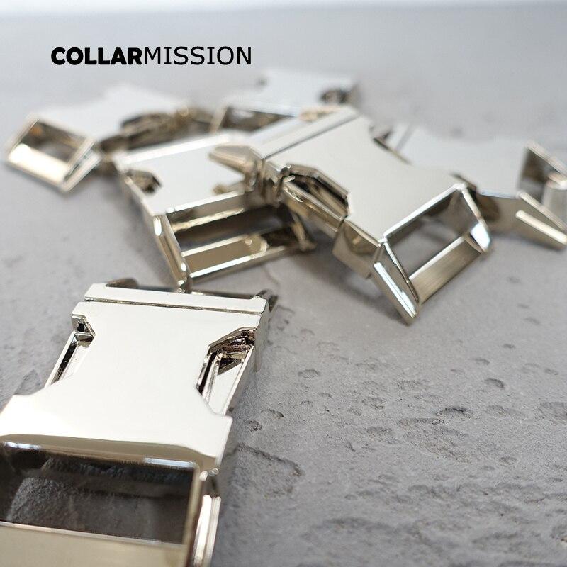 10 개/몫 금속 릴리스 버클 30mm diy 개 목걸이 애완 동물 용품 액세서리 낙하산 코드 내구성 하드웨어 ck30y-에서버클 & 후크부터 홈 & 가든 의  그룹 1