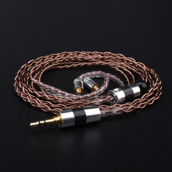 3.5mm Fever Audio Cable Replacement For Shure MMCX SE215 SE535 SE846 audio cable For ie80 ie8I Earphone AUX Audio Cable