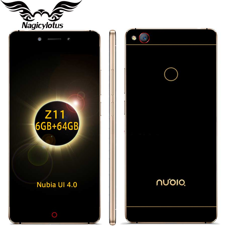 "Original ZTE Nubia Z11 5.5"" Borderless 4GB/6GB RAM 128GB/64GB ROM Mob"