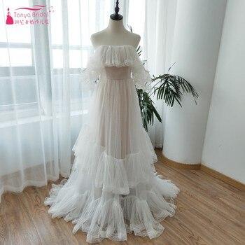 Punto blanco vestidos de novia