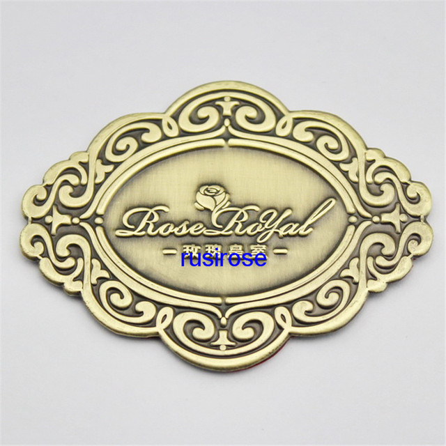 Personalized Brand Furniture Metal Plate Custom, Furniture Antique Metal  Patch, Furniture Manufacturers OEM Custom