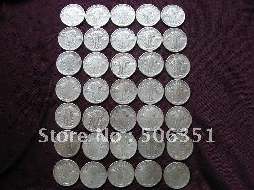 סיטוני  35 מטבעות קבע רובע ליברטי - עיצוב לבית