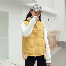 new Casual Cotton Vest Women Fashion 2020 Autumn Winter Warm Coat Woman Ladies Waistcoat Slim Outerwear