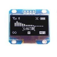 New 5PCS/LOT 1.3 OLED module white color 128X64 1.3 inch OLED LCD LED Display Module For Arduino 1.3 IIC I2C Communicate