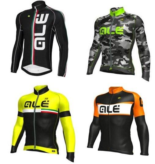 Prix pour ALE vélo jersey 2016 vélo vtt sport maillot ciclismo ropa ciclsimo invierno printemps automne cyclisme vêtements