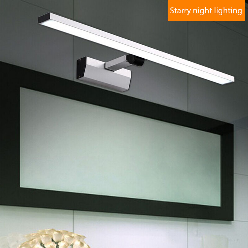 Contemporary led bathroom mirror light stainless steel 90 260v cosmetic mirror  lamp ceiling lamps wall. Popular Bathroom Mirrors Contemporary Buy Cheap Bathroom Mirrors