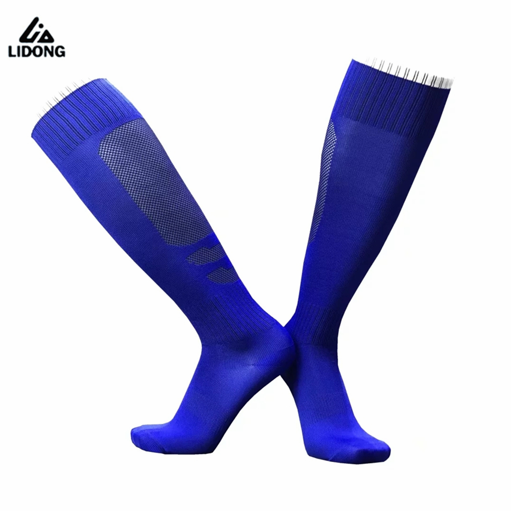 2017 sports cycling socks adult long thick football socks kids boys non slip towel socks running