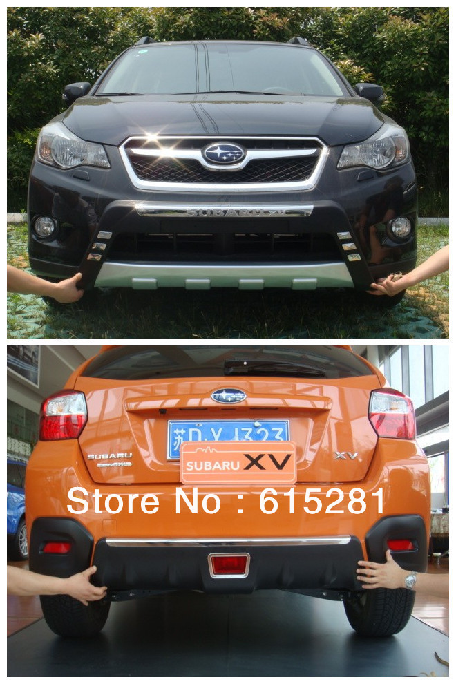 Subaru XV Front Rear Bumper Protector Body Kits, ABS