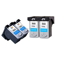 20pieces Lot 4 BK 4 COLOR Ink Cartridge Compatible FOR CANON Ip1800 Ip2600 MP140 MP210