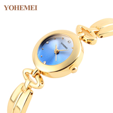 YOHEMEI Elegant Luxury Brand Women watches Sunrise Female Clock wrist watch women bracelet watch relogio feminino montre femme