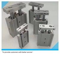 CXSM10 10 CXSM10 30 CXSM15 40 CXSM 20 30 SMC tipo di componente pneumatico a doppio stelo cilindro di base di aria strumenti Componenti pneumatici    -
