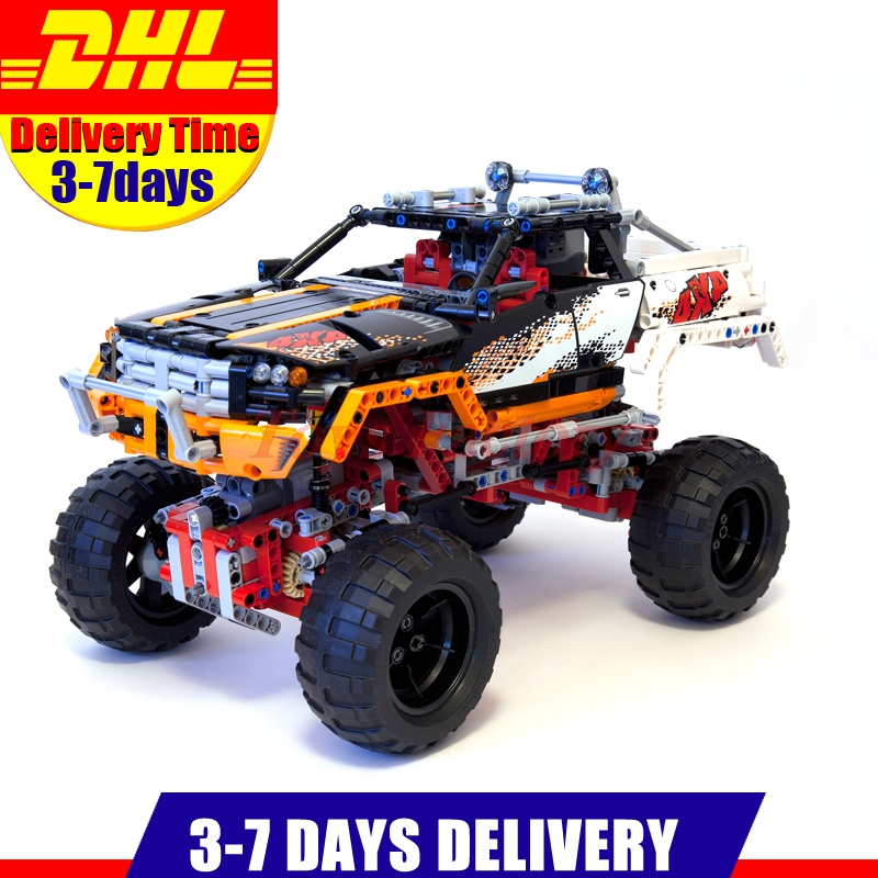 Lepin 20014 Technic Series Ultimate Version The Remote-Control Four-Wheel Drive Off-road Vehicles Blocks Educational Toys 9398 lepin 20076 technic series the mack big