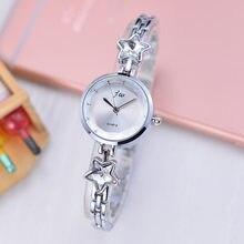 2019 Jw Brand Elegant Ladies Bracelet Watch Women New Arrival Gold Steel Strap Simple Design Casual Wrist Quartz Female Time