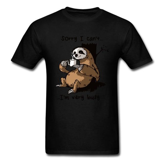 Very Busy Sloth T Shirt...