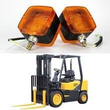 1Pair Yellow Turning Signal Lamp Bulb Turn Light Side for 24V Truck Trailer Caravan