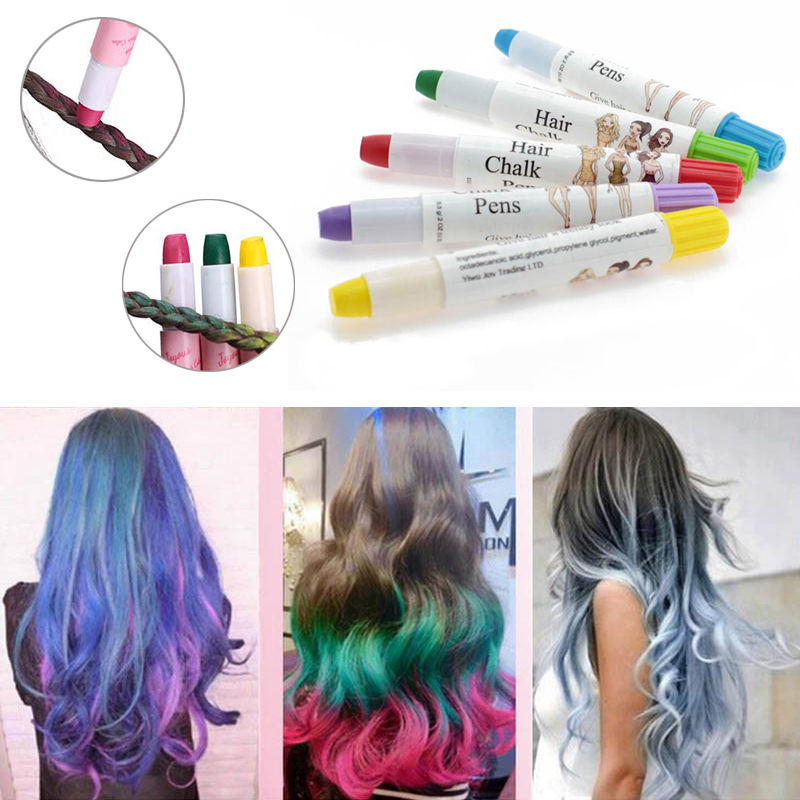 US $1.61 5% OFF|High Quality Beauty Temporary Super Comfortable Dye Colored  Hair Pastel Hair Color Without Alcohol Crayon For The Hair-in Hair Color ...