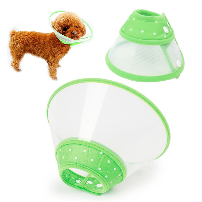 Pet Shields Anti-bite Protection Collars Dog-biting Neck Pet Grooming Protective Cover A ...