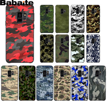 Babaite Camouflage Pattern Camo military Army Design Phone Cover for Samsung S9 plus S5 S6 S6edge S6plus S7 S7edge S8 S8plus