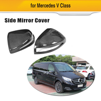 Auto Achteruitkijkspiegel Covers Voor Mercedes-Benz V-Klasse V220d V250 2016-2018 Side Mirror Covers Caps carbon Fiber Vervanging