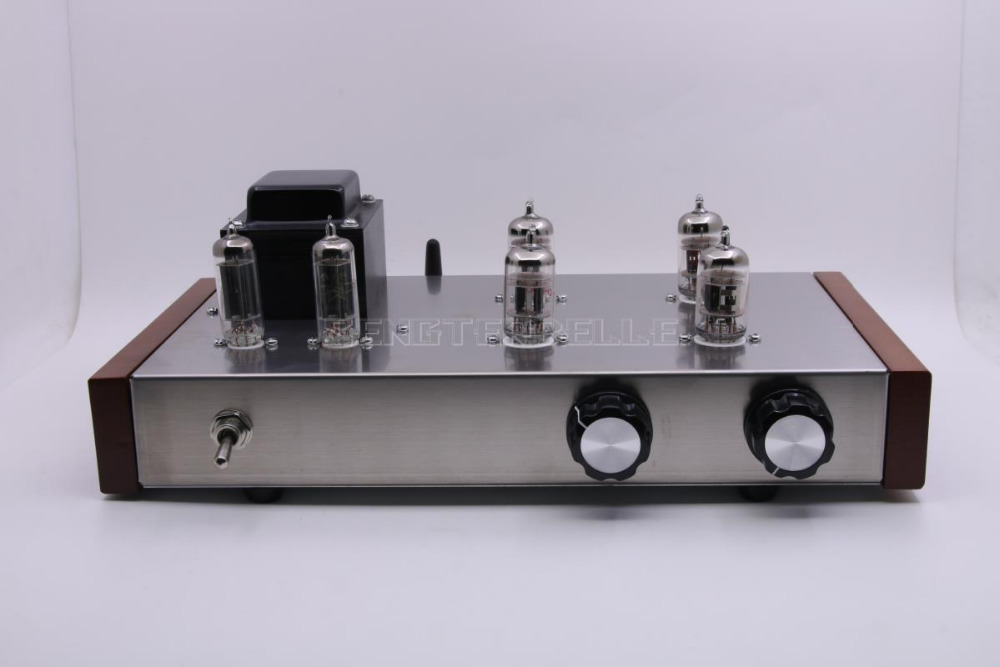Finished ECC82+6Z4 <font><b>Tube</b></font> <font><b>Bluetooth</b></font> <font><b>Preamplifier</b></font> HiFi Vacuum <font><b>Tube</b></font> Pre-amp with BT 5.0 image