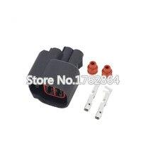 10 PCS  Delphi 2 Pin Female EV6 Fuel Injector Electrical Connector Plug DJY7022H-2.2-21
