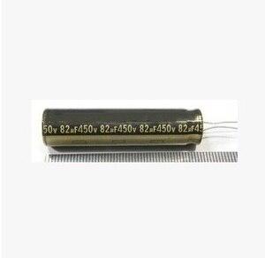 Image 1 - Free shipping 10PCS 450V82UF 12.5x50mm DIP 82Uf 450V Aluminum Electrolytic Capacitor best quality New origina