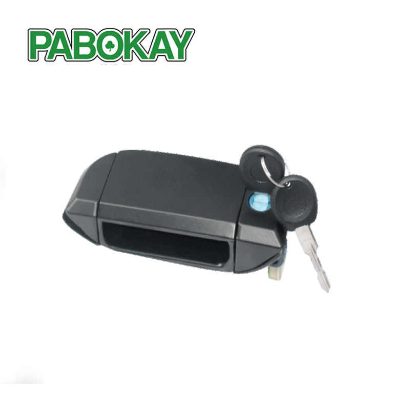 FOR VW T4 TRANSPORTER DOOR HANDLE WITH 2 KEYS FRONT LEFT NEW 701837205