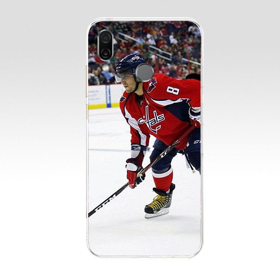 182FG Ice Hockey Alexander Ovechkin Sidney gift Soft Silicone Tpu Cover phone Case for huawei Honor 8 Lite 8X(China)