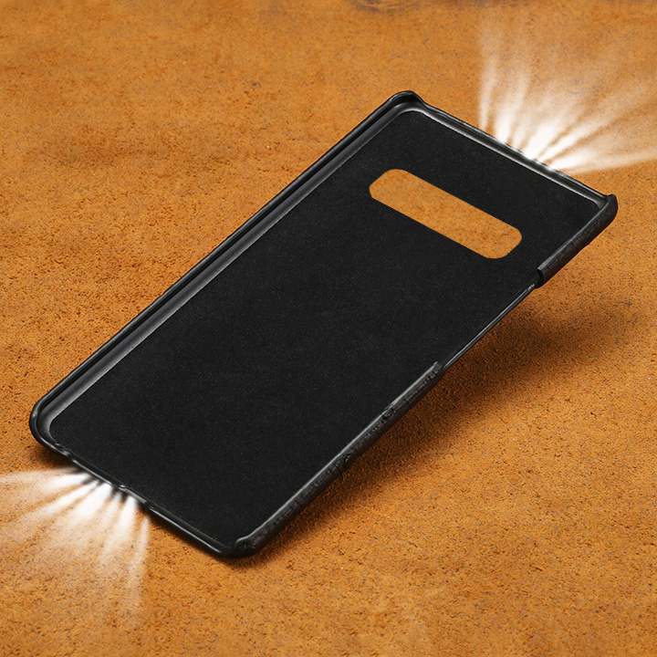 Phone Case For Samsung Galaxy S6 S7edge S8 S9 S10 Plus a30 a50 a70 Real Ostrich Skin For Note 8 9 10 A5 A7 A8 2018 J5 2017 case in Half wrapped Cases from Cellphones Telecommunications