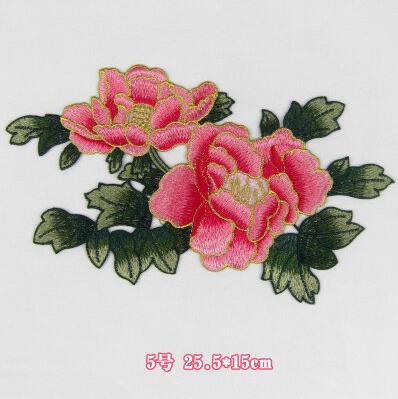 Yüksek Kaliteli Nakış çiçek yamalar bez yapıştırın güzel - Sanat, el sanatları ve dikiş - Fotoğraf 2