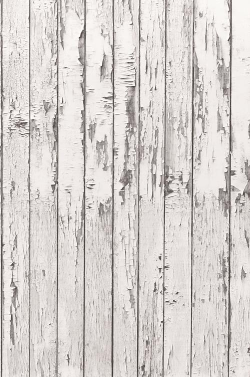 {various sizes} white peeling plank backdrop emulational wood floor studio backdrops photo background  D-9757