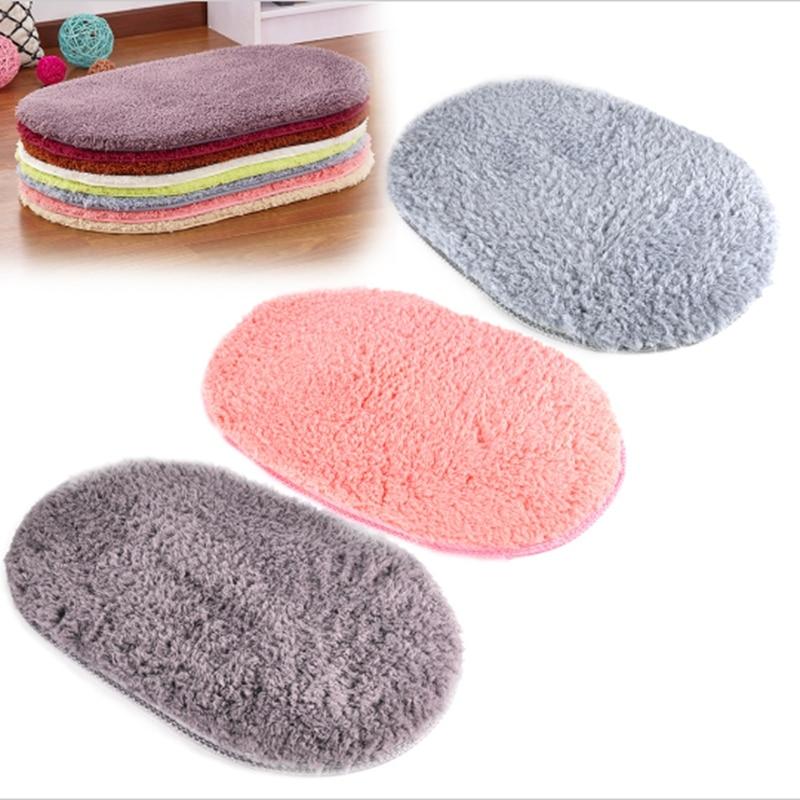 Top Sale Koupelnový koberec Koupel Mat Super Super Magic Protiskluzová podložka Oválné kobercové koberce 40X60CM