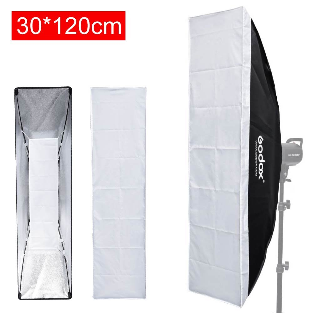 Godox Collapsible Rod Softbox 30x120cm/ 12