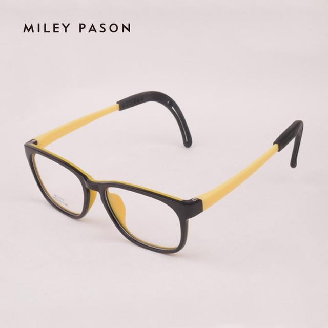 09a49e5370b Kids Plastic TR90 eyewear ultra-lightweight Eyeglasses Soft silica gel  Children Cartoon Optical Glasses Frame