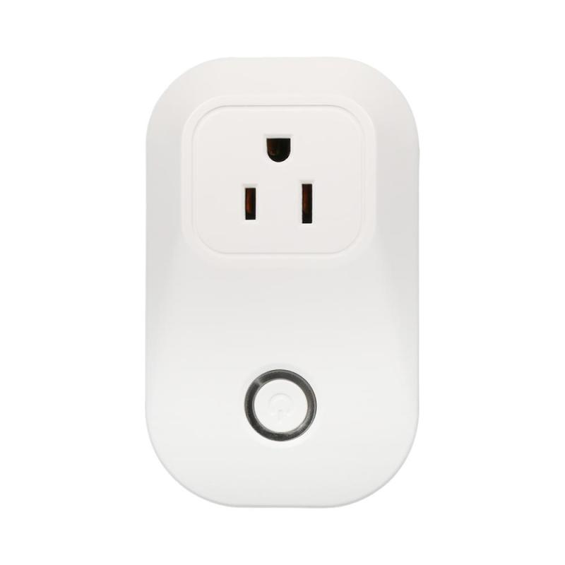 AC 110-240V Smart Wifi Plug Power Socket App Wireless Remote Control Timer Switch Wall Plug Support Amazon Alexa Voice Control inqmega wireless wifi socket app remote control smart wifi power plug timer switch wall plug home appliance automation eu style