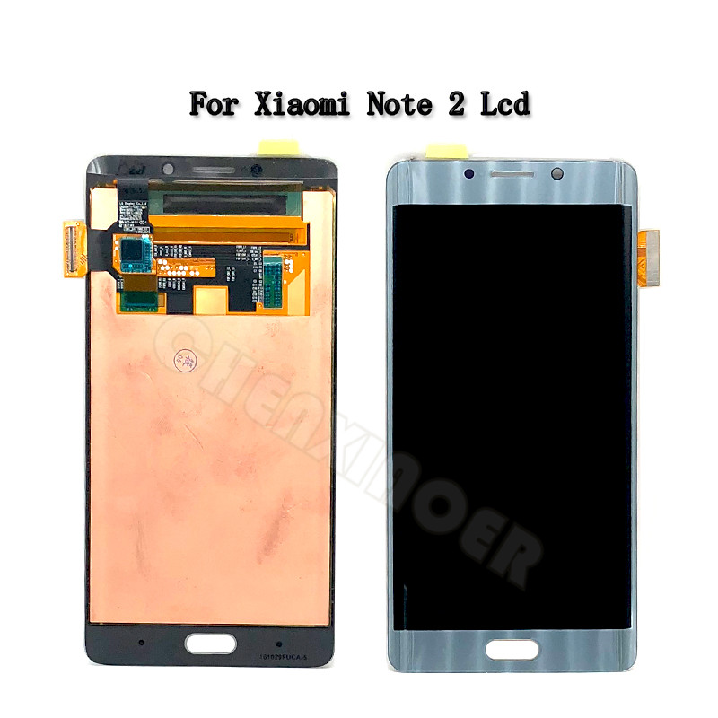 Xiaomi Mi Note 2 LCD Display Touch Screen Digitizer Assembly Note2 Display For 5.7 Xiaomi Mi Note 2 LCD with frame ReplacementXiaomi Mi Note 2 LCD Display Touch Screen Digitizer Assembly Note2 Display For 5.7 Xiaomi Mi Note 2 LCD with frame Replacement