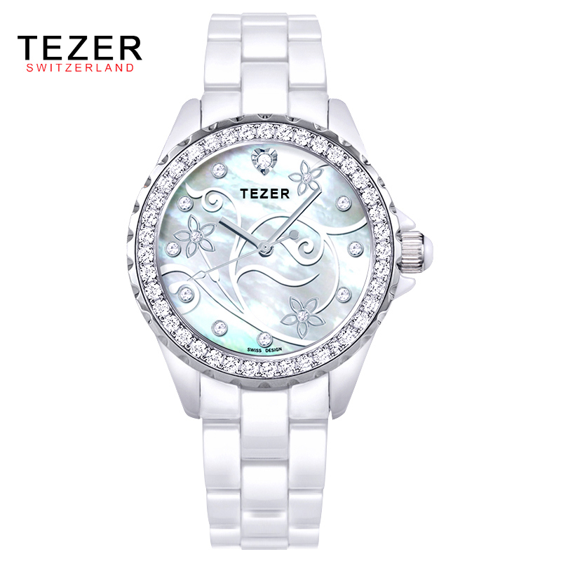 16 Colors Quartz Ladies Dress Watches Female Sports Casual Wristwatch Simulated-Ceramics Band Clocks 2016 Style Relojes AB1805