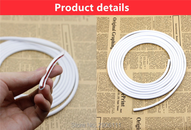 5M Door edge collision protection tape stickers Accessories Car-styling for Cadillac srx cts ats escalade sts dts bls