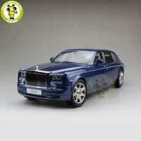 1/18 Kyosho Rolls Royce Phantom выдвинутой колесной базой литья под давлением модели автомобиля подарок коллекция синий