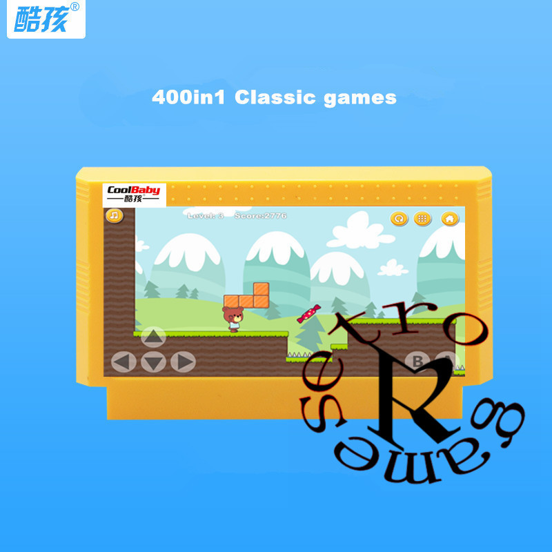 coolbaby Classic games 7/150/180/380/400/500 in 1 Best Child Gift 8 bit Game Card for Video Game Console Memory Card