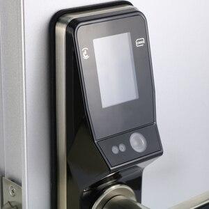 Image 5 - אלקטרוני דלת מנעול מתקדם חכם זיהוי פנים דלת מנעול אבטחה דיגיטלי מגע מסך Keyless פנים חכם דלת מנעול