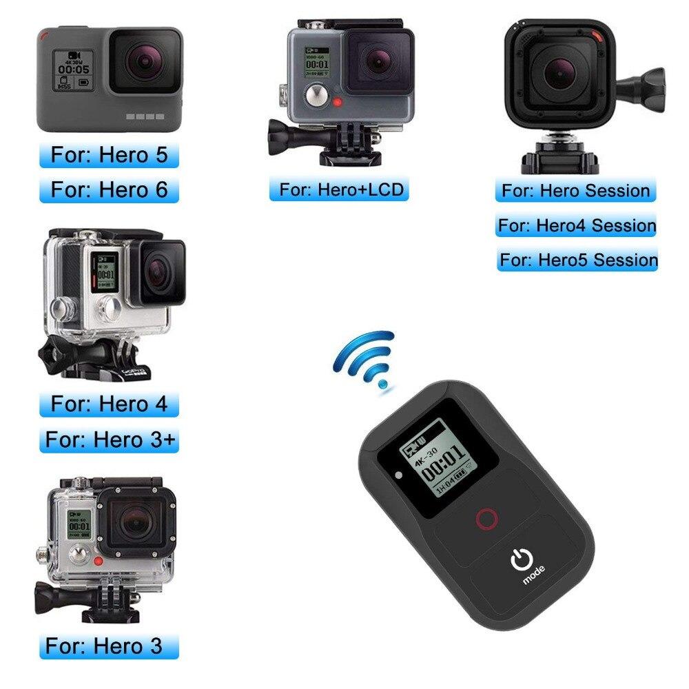 Smart Wi-Fi À Distance pour Gopro Hero 7 6 5 4 3 + 3 Noir Suptig Wifi À Distance