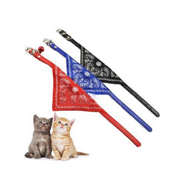 Puppy Cat Bandana Decoration Neckerchief Pet Accessories