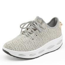 Женские сетчатые кроссовки для прогулок дышащие спортивные туфли