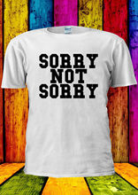 Sorry Not Tumblr Funny Swag T-shirt Vest  Top Men Women Unisex 1921 New Tops Tee freeshipping