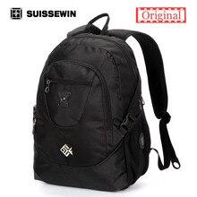 Suissewin modemarke rucksack sn7077 nylon schule rucksack tasche schweizer armee männer bagpack für macbook air computer mochila