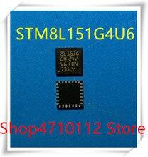 NEW 10PCS/LOT STM8L151G4U6 8L151G QFN-28 16MHz 16KB 8 bit microcontroller chip