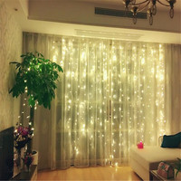 In Stock AC220V 3M X 2M 204LED New Year Christmas Garlands String Christmas Light Party Garden